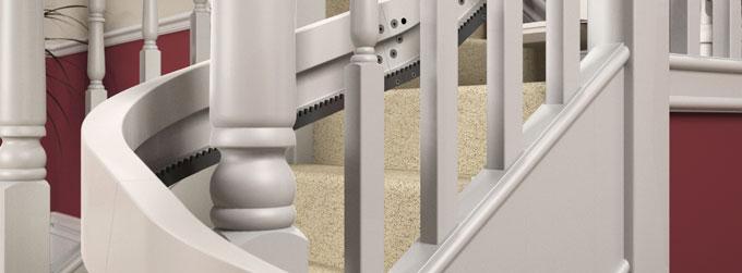 Befestigung An Der Treppe Nicht Wand Klbares Design Einzigartiges Modulares Schienensystem